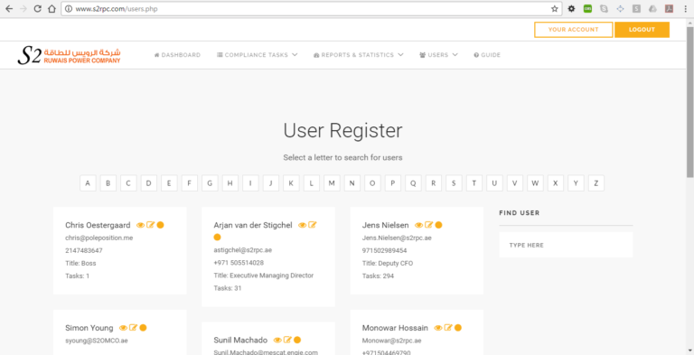 S2RPC Task Management System